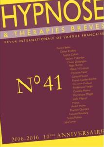 Revue Hypnose & Thérapies Brèves 41