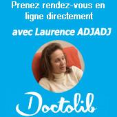 Prendre rendez-vous avec Laurence Adjadj hypnothérapeute et psychologue